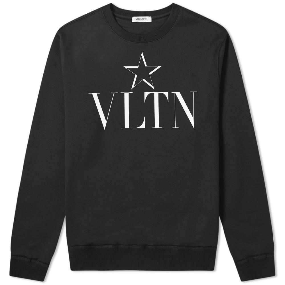 Photo: Valentino VLTN Star Logo Crew Sweat