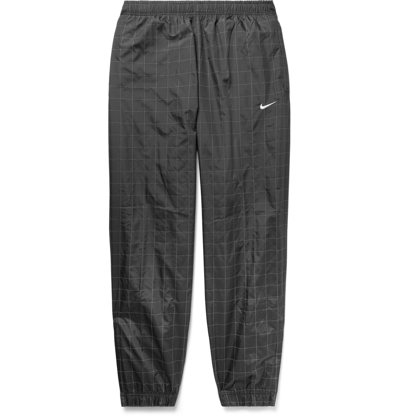 Photo: Nike - NikeLab Flash Reflective Checked Shell Track Pants - Black