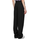 Botter Black Wool Classical Trousers