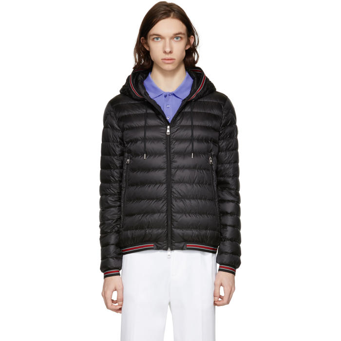 Photo: Moncler Black Down Eliot Jacket
