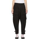 3.1 Phillip Lim Black Utility Cargo Trousers