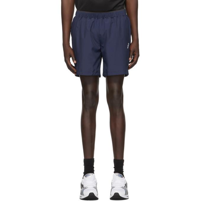 Photo: Asics Navy 7-Inch Shorts