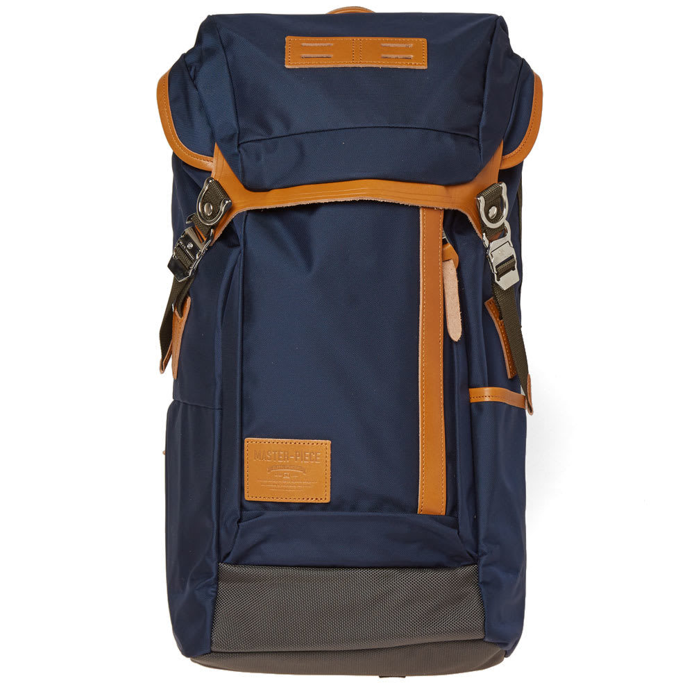Photo: Master-Piece Potential Leather Trim Backpack