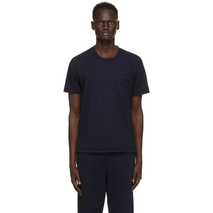 Photo: Les Tien Navy Classic Pocket T-Shirt