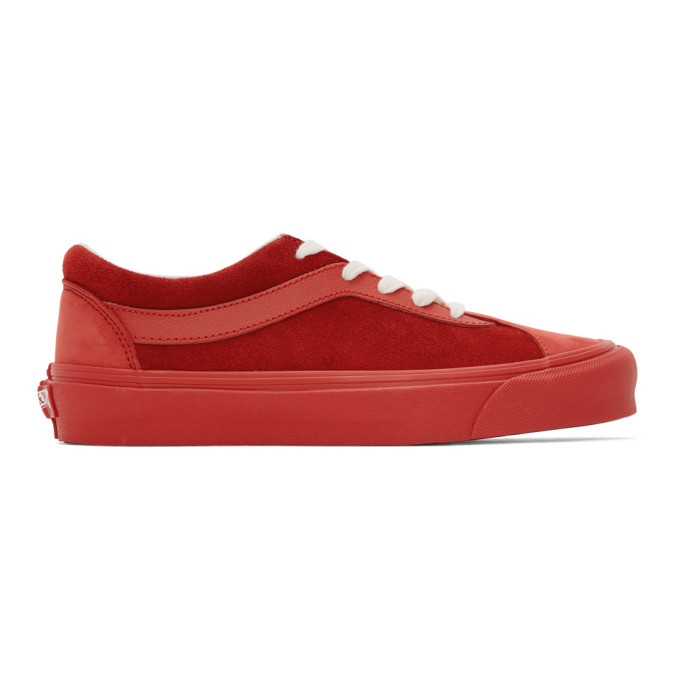 Photo: Vans Red Bold Ni LX Sneakers