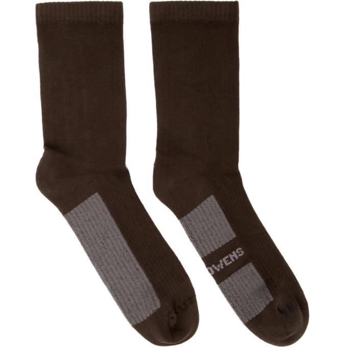 Photo: Rick Owens Brown Glitter Socks
