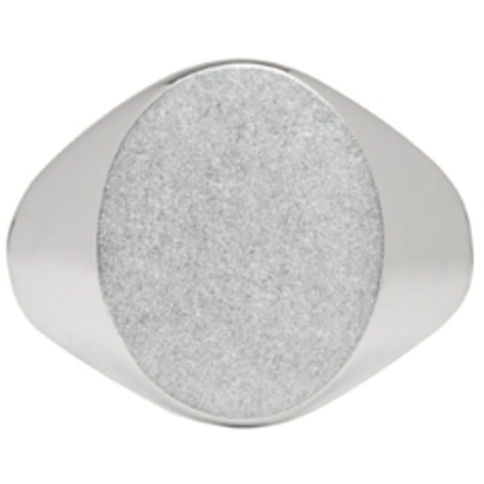 Photo: Maison Margiela Silver Chevalier Ring