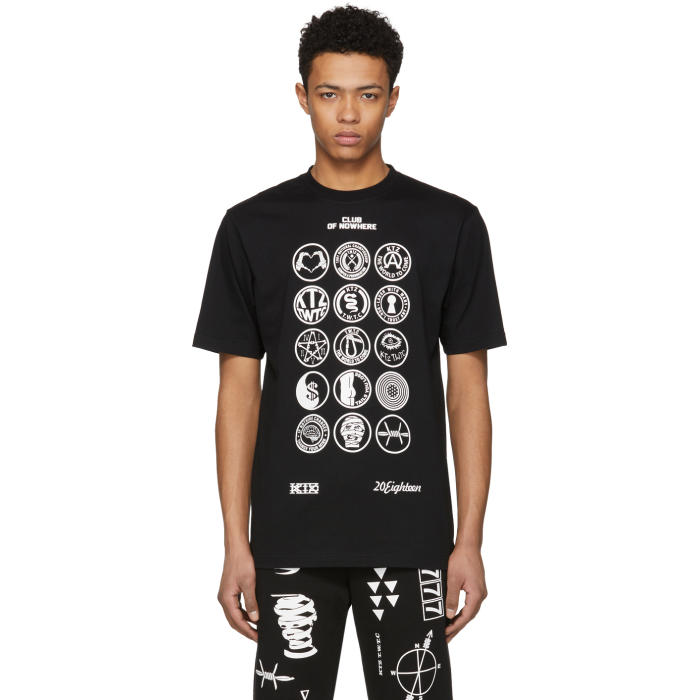 Photo: KTZ Black and White Scout Patch T-Shirt