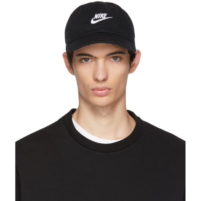 62ebc6c2e Nike Black NSW H86 Futura Washed Cap Nike