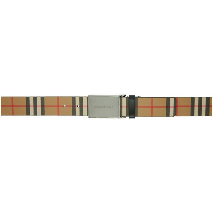 Photo: Burberry Beige Vintage Check Belt