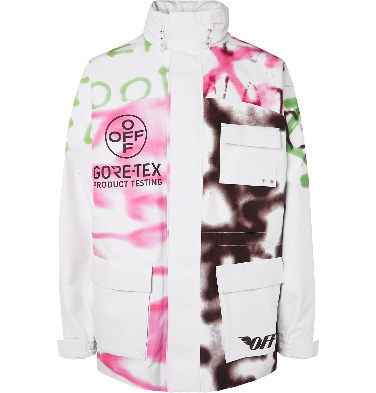 Photo: Off-White - Printed GORE-TEX Jacket - White
