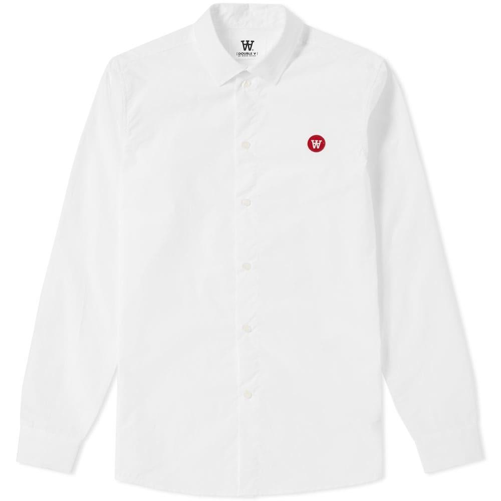 Wood Wood Kay Shirt White