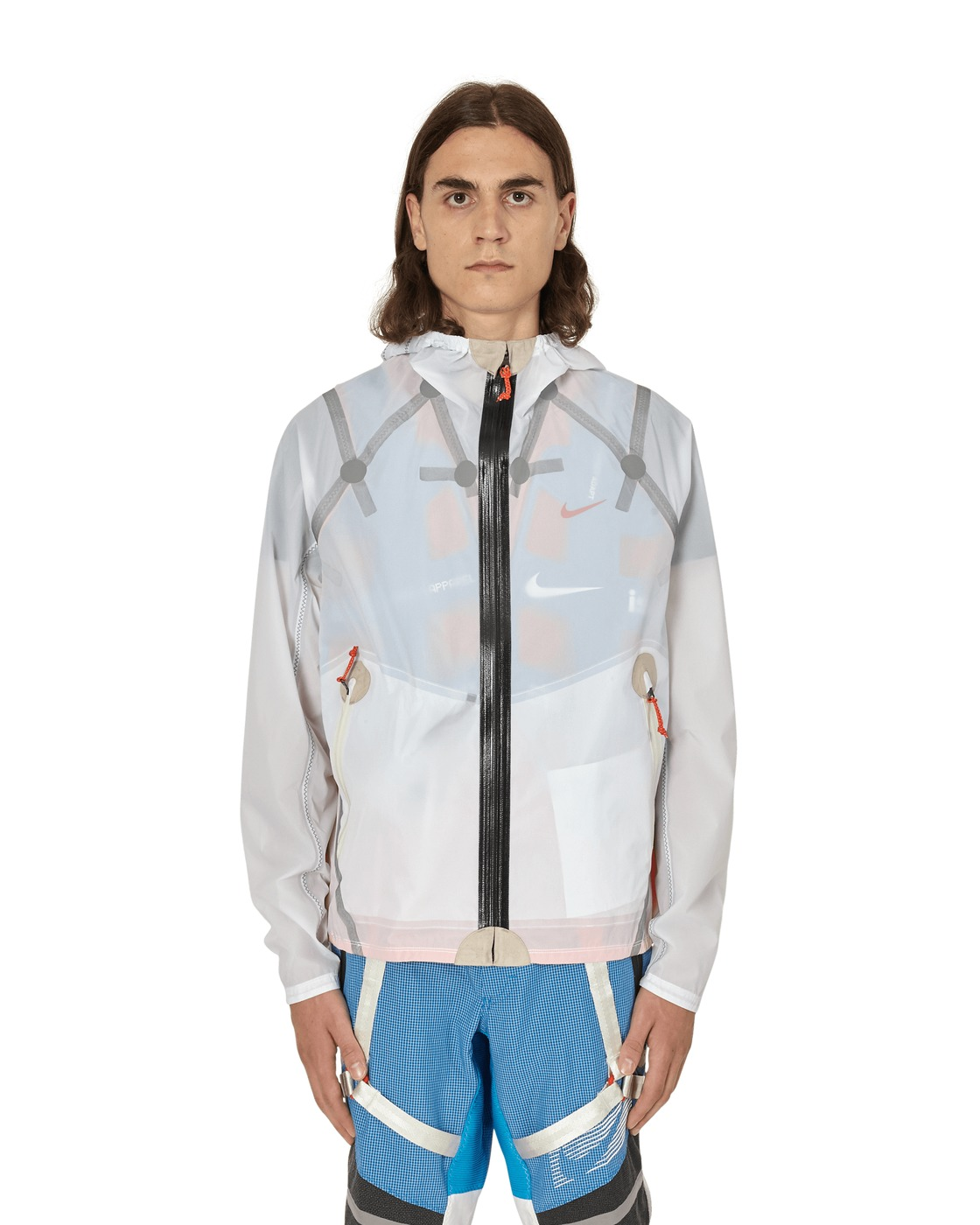 Nike Special Project Ispa Inflate Jacket White/Team Orange