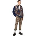 Sacai Multicolor Hank Willis Thomas Edition Flannel Mix Plaid Jacket