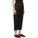 3.1 Phillip Lim Black Wool Snap Cargo Pants