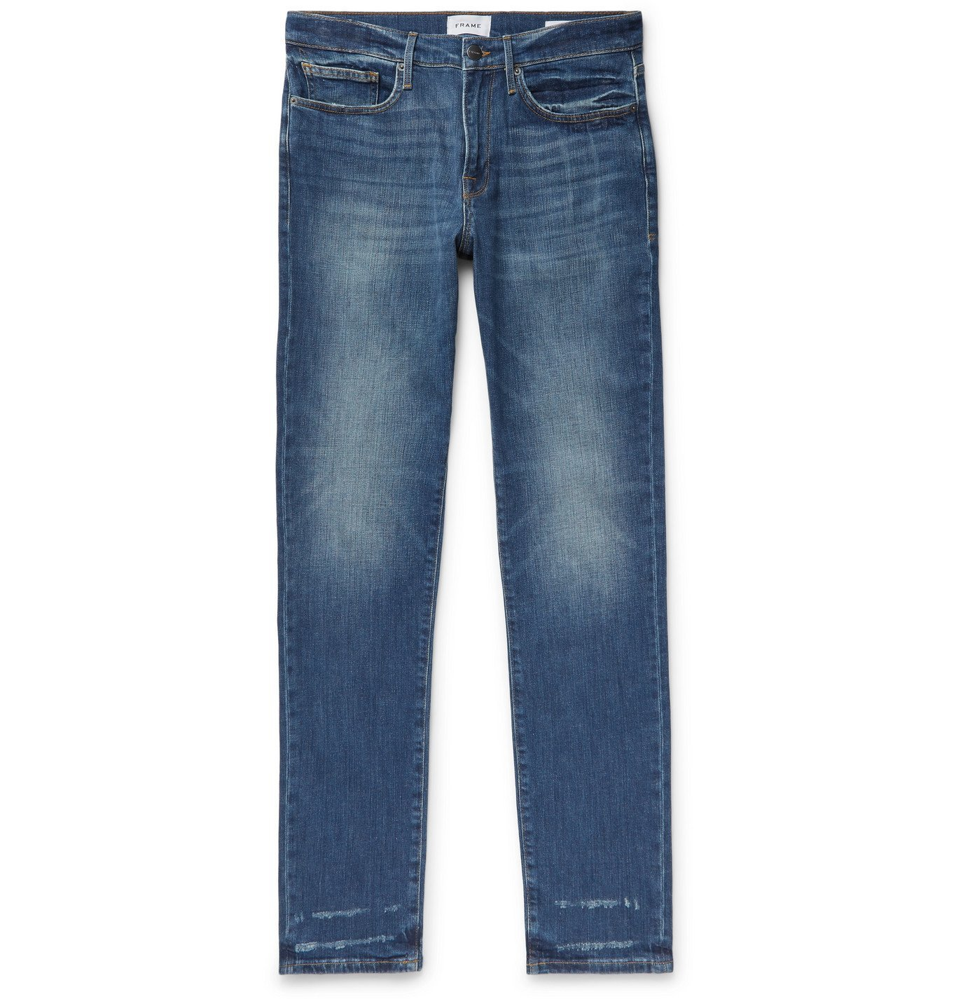 Photo: FRAME - L'Homme Athletic Denim Jeans - Blue