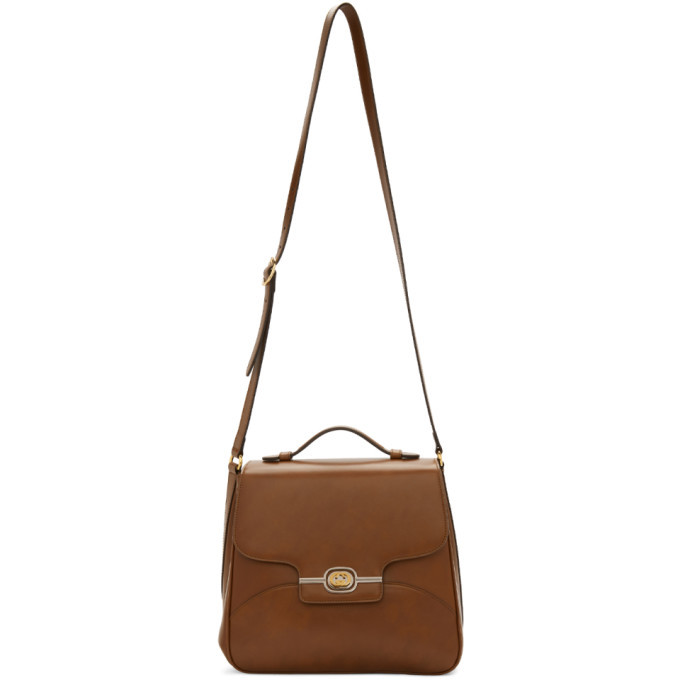 Photo: Gucci Brown Side Messenger Bag