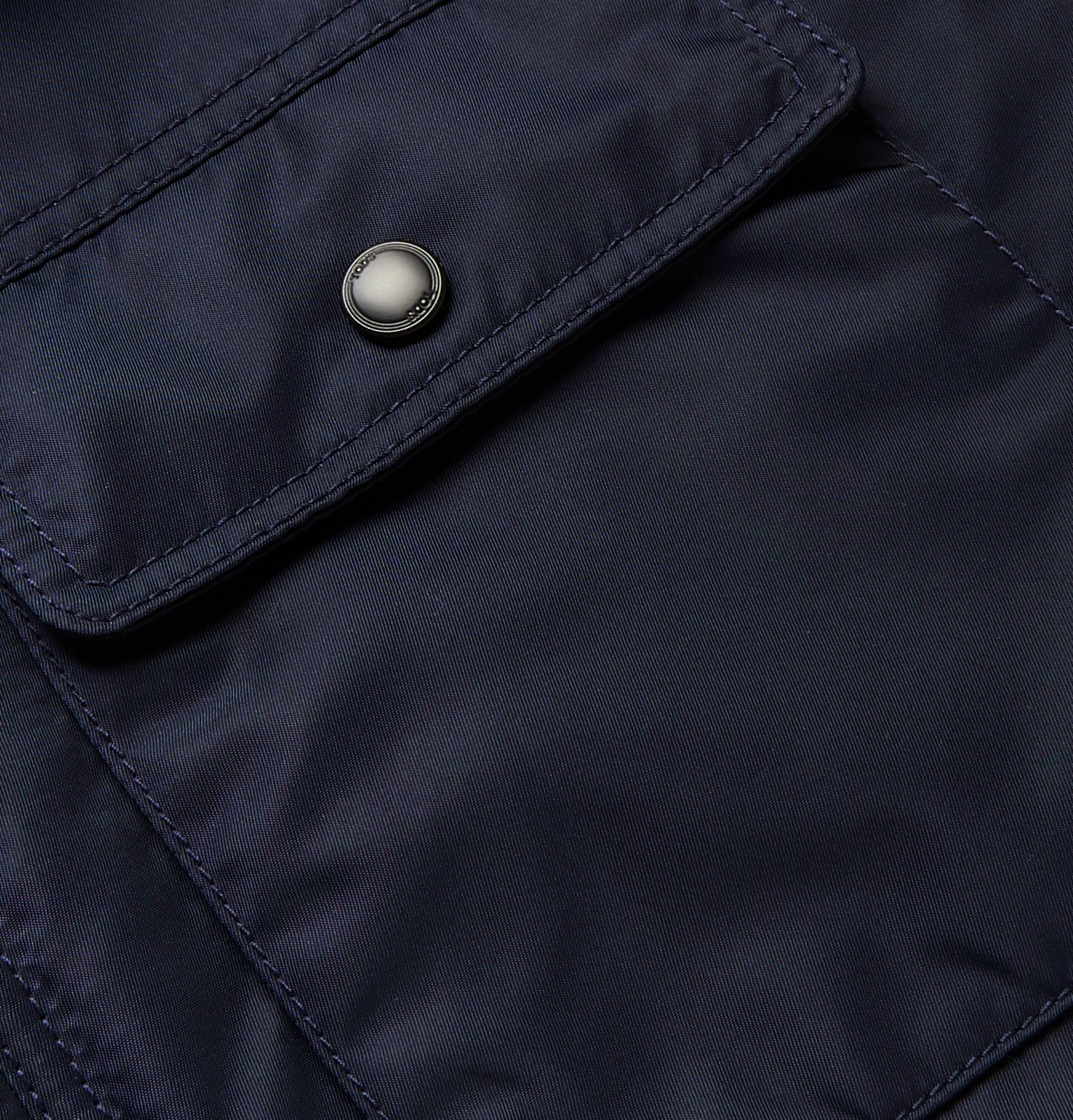 Tod's - Slim-Fit Shell Bomber Jacket - Blue