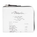 3.1 Phillip Lim White Mini Receipt Zip Around Wallet
