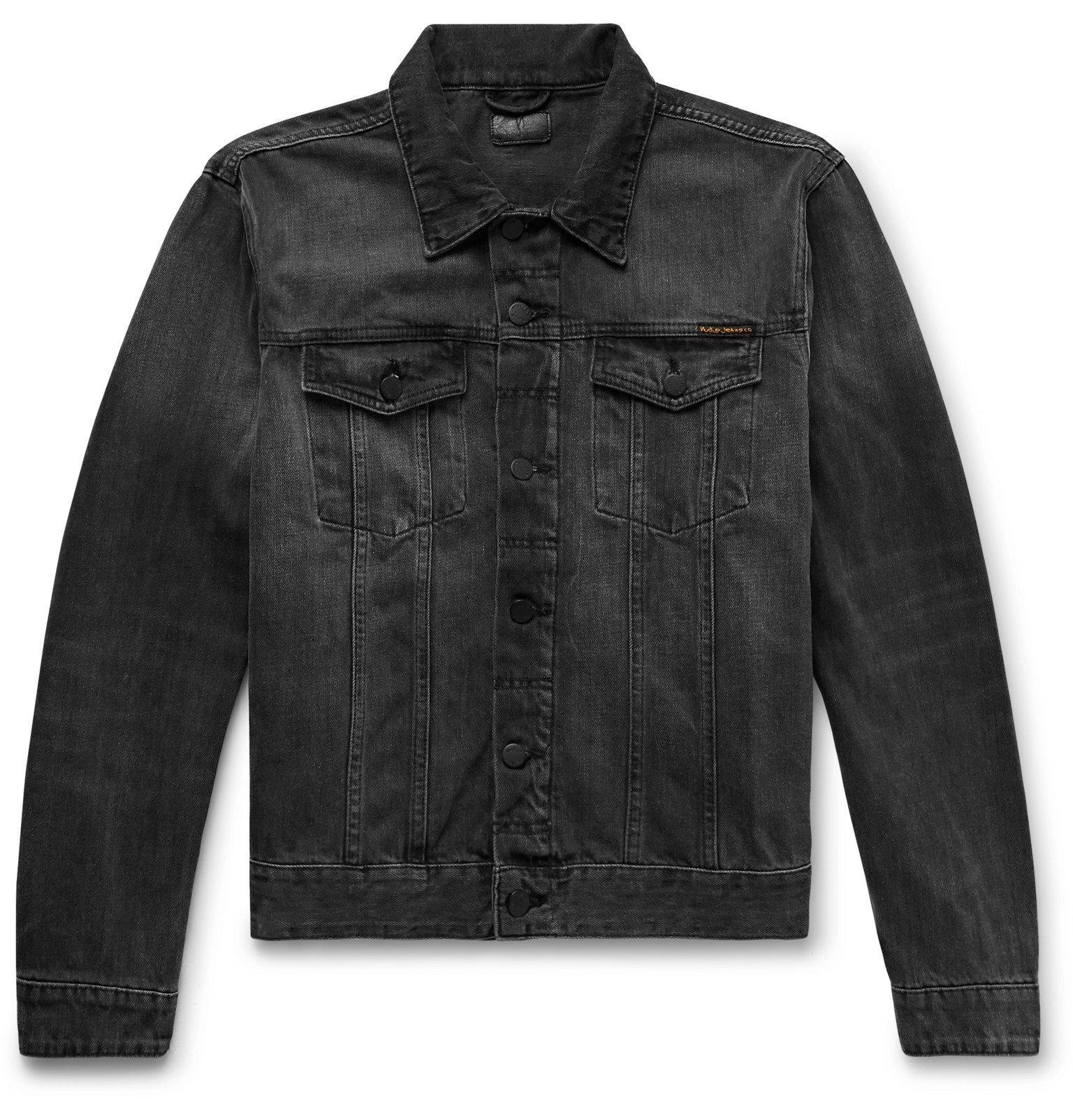 Photo: Nudie Jeans - Jerry Organic Denim Jacket - Black