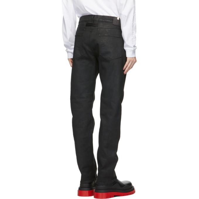 1017 ALYX 9SM Black Six-Pocket Moonlit Jeans