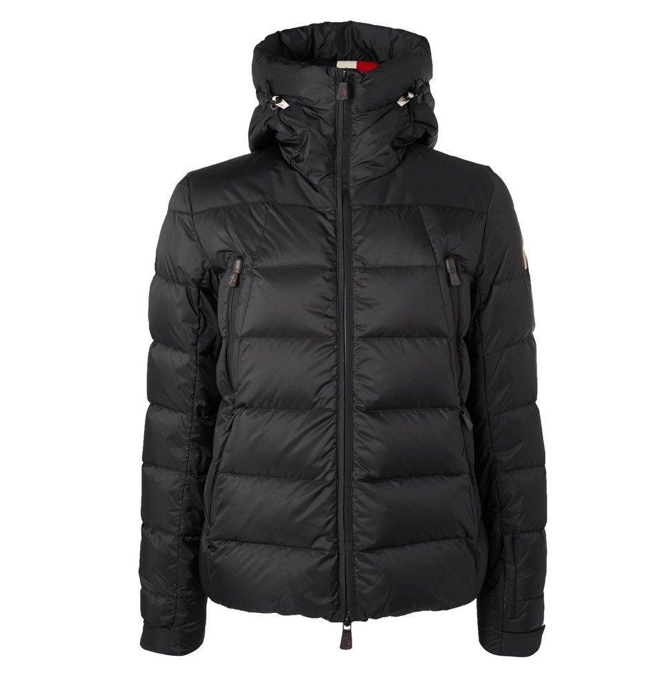 Photo: Moncler Grenoble - Camurac Hooded Down Ski Jacket - Black