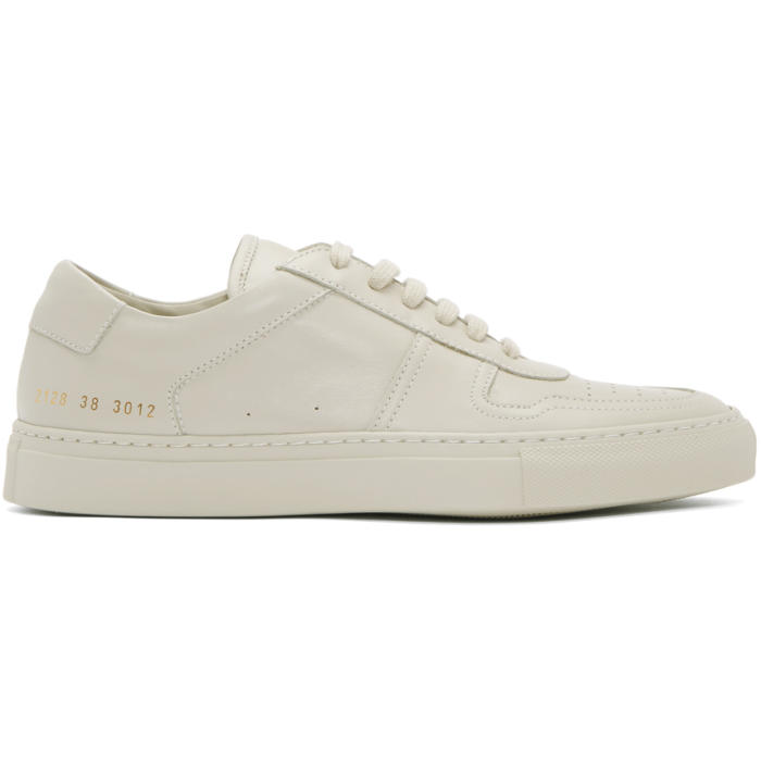 Common Projects Grey B-Ball Low Sneakers