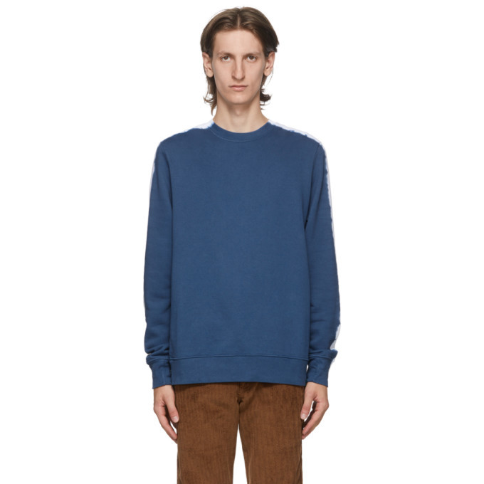 Photo: PS by Paul Smith Blue Tie-Dye Sweatshirt