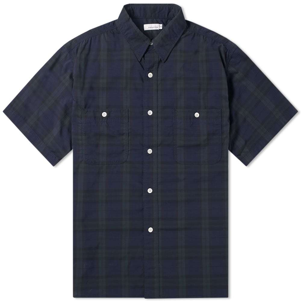 Photo: Nanamica Check Wind Shirt