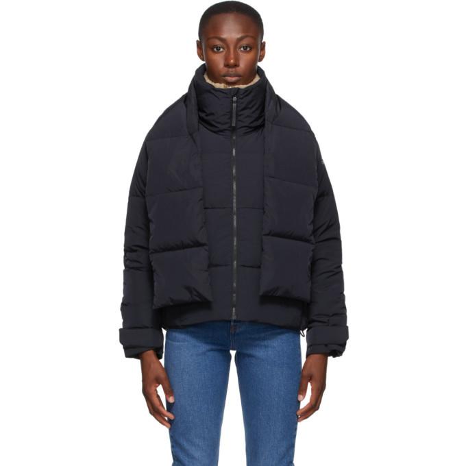 adidas Originals Black Down Glam On Jacket