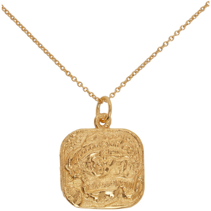 Alighieri Gold The Infernal Storm Necklace