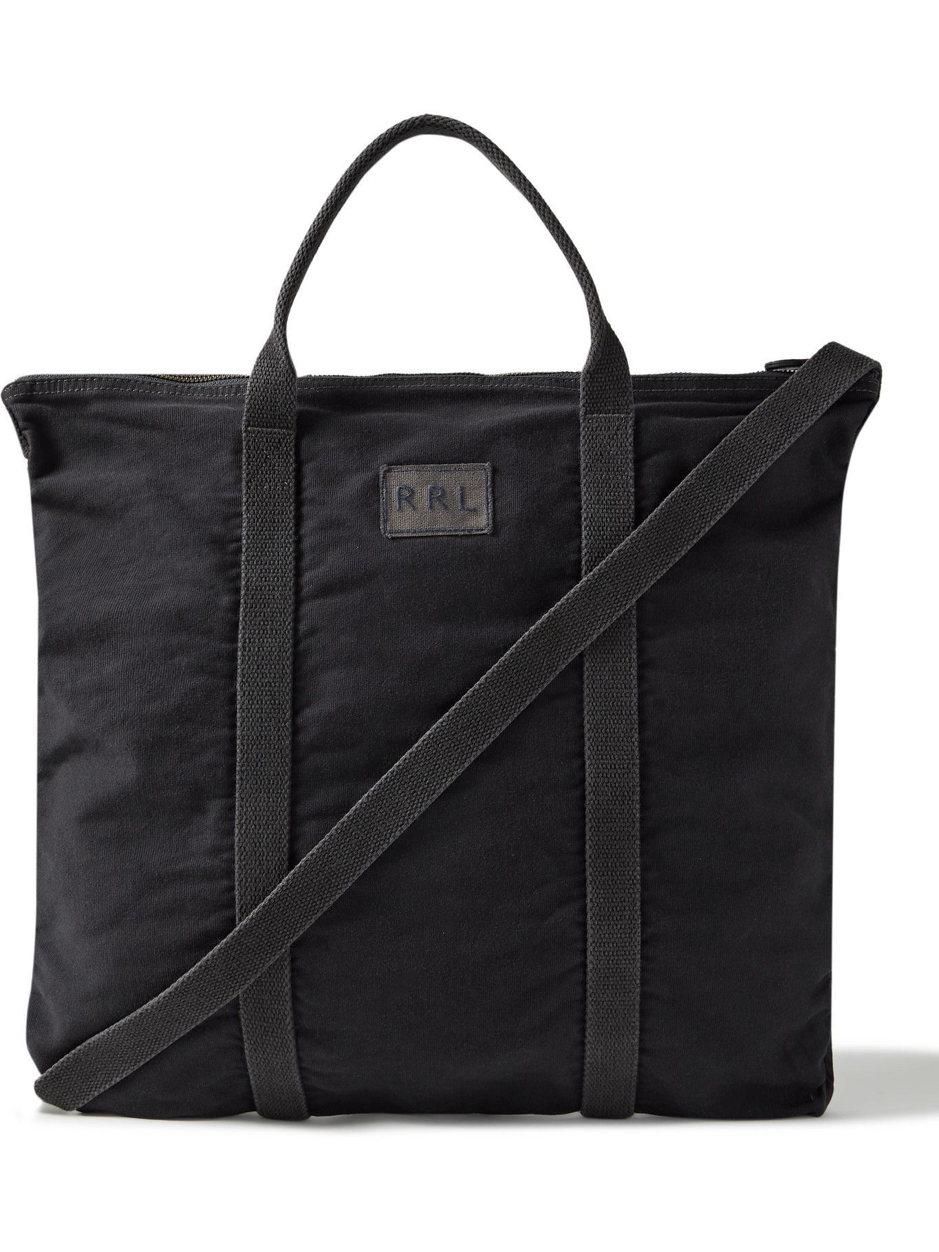 RRL - Logo-Appliquéd Cotton Tote Bag