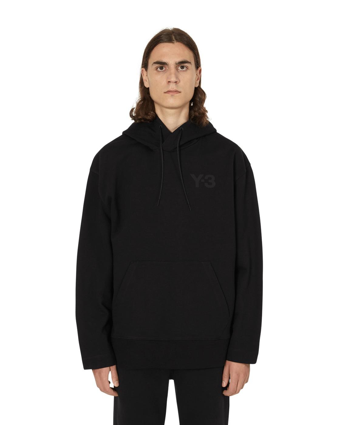 Photo: Y 3 Classic Chest Logo Hooded Sweatshirt Black