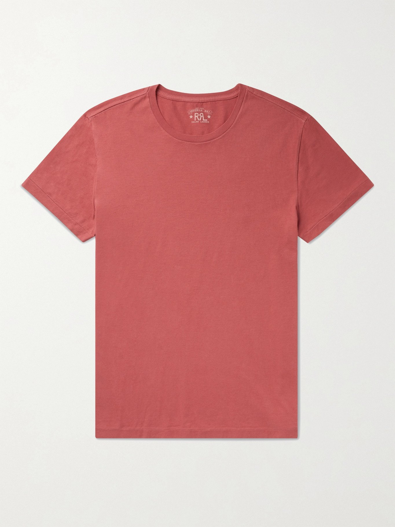 RRL - Cotton-Jersey T-Shirt - Red