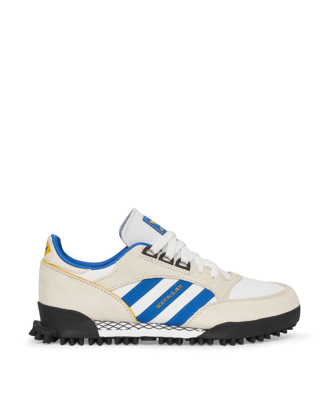 Photo: Adidas Originals Boston Super X Marathon Sneakers Cream White/Blue