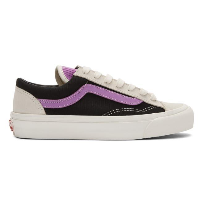 Photo: Vans Black and Grey OG Style 36 Sneakers