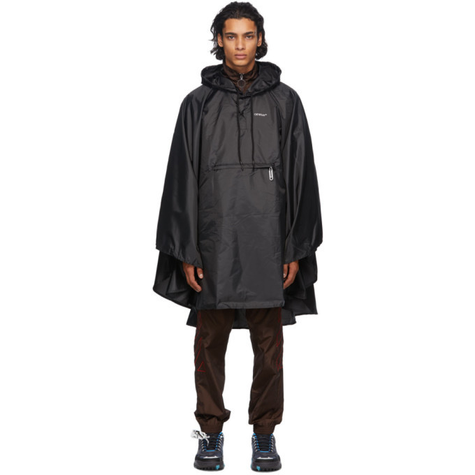 Photo: Off-White Black Lightweight Packable Raincoat