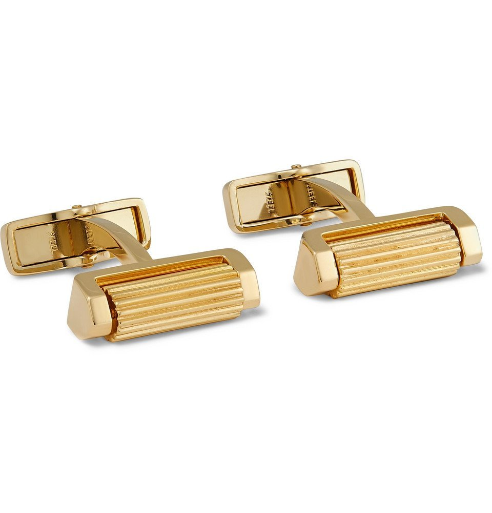 Dunhill - Gold-Plated Cufflinks - Gold