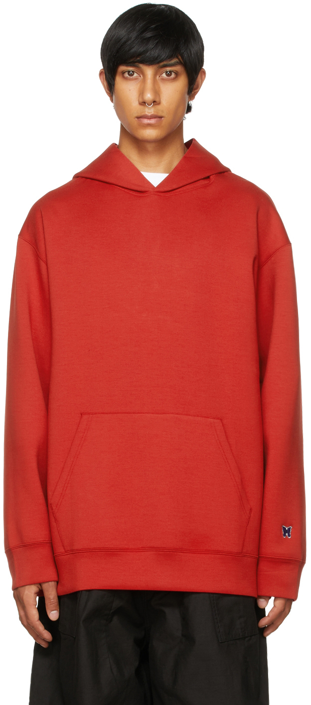Photo: Needles Red Jersey Classic Hoodie