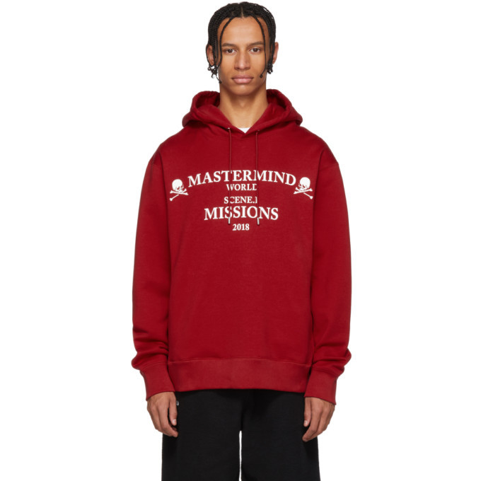 Photo: mastermind WORLD Red Missions Hoodie