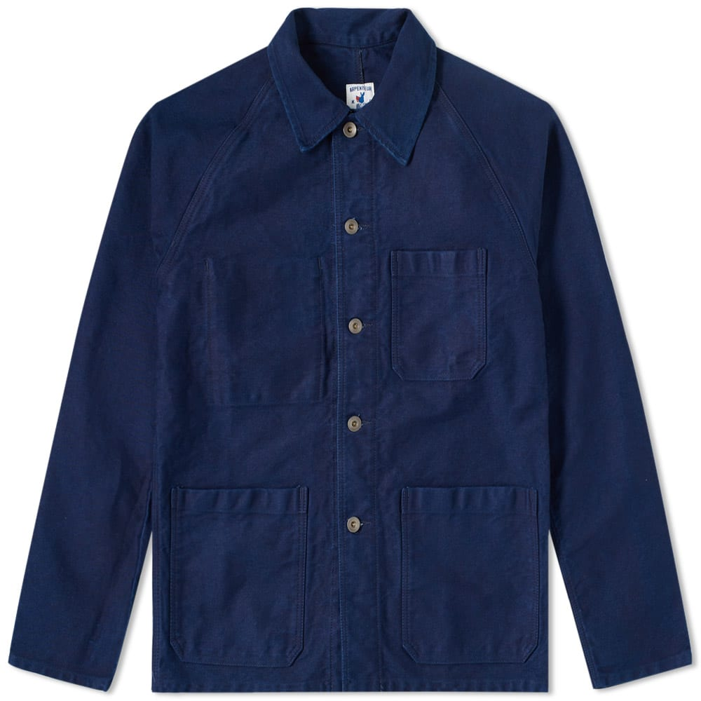Photo: Arpenteur Raglan Moleskin Jacket