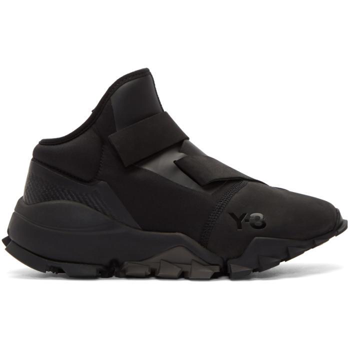 Y-3 Black Ryo Sneakers