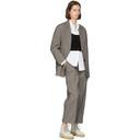 3.1 Phillip Lim Black and White Check Oversized Blazer