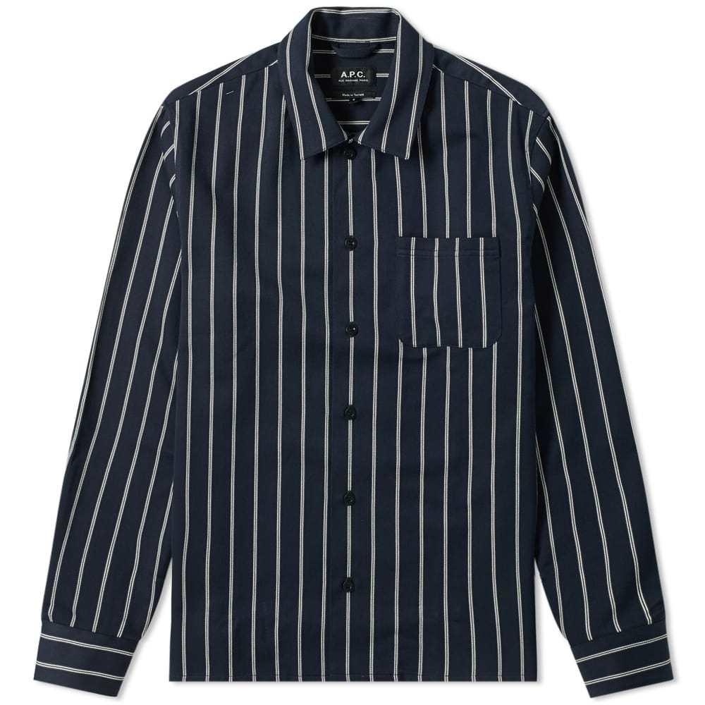 Photo: A.P.C. Mini Stripe Overshirt