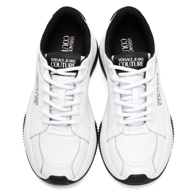 Versace Jeans Couture White Extreme Sneakers