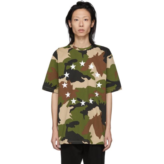 Photo: Etudes Green and Brown Camo Europe Wonder T-Shirt