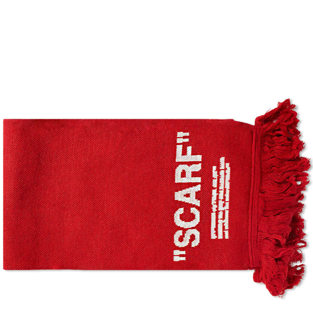 Photo: Off-White Quote Scarf