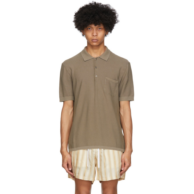 Photo: Tiger of Sweden Brown Poplar Polo