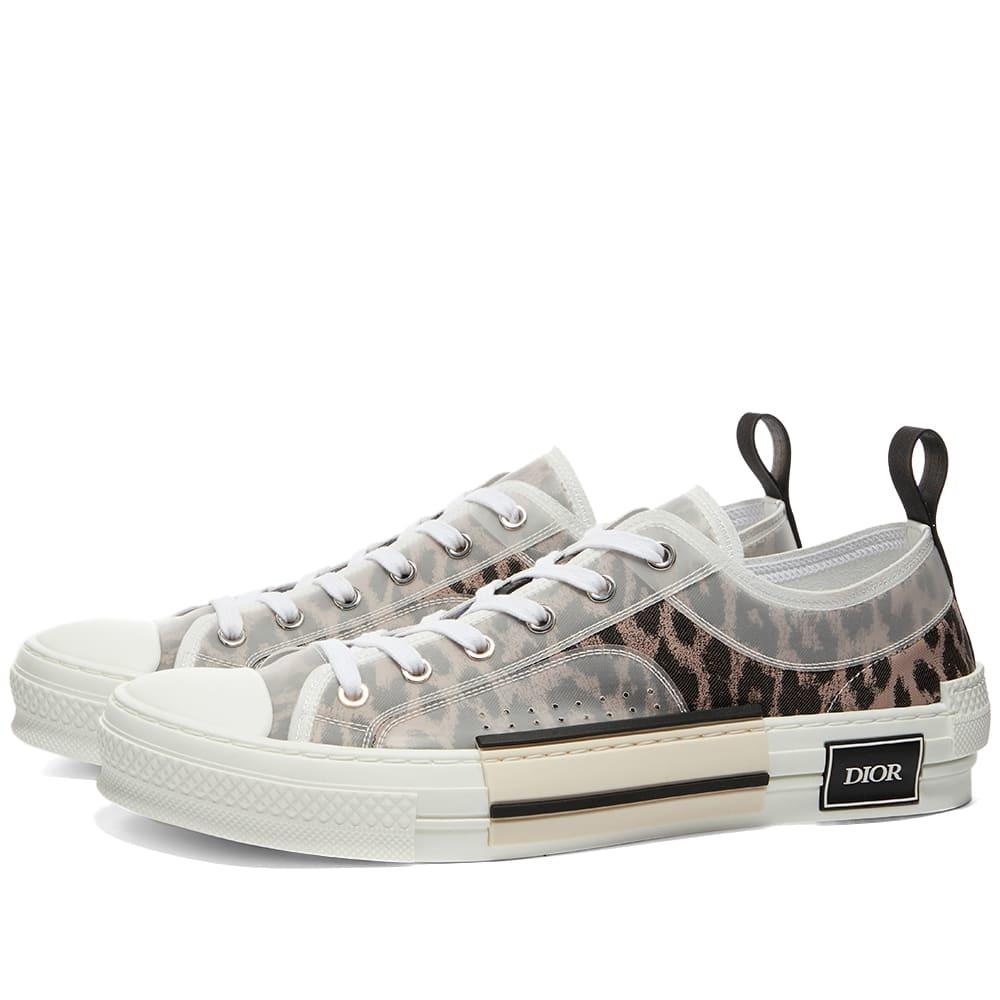 Dior B23 Leopard Low Sneaker Dior Homme