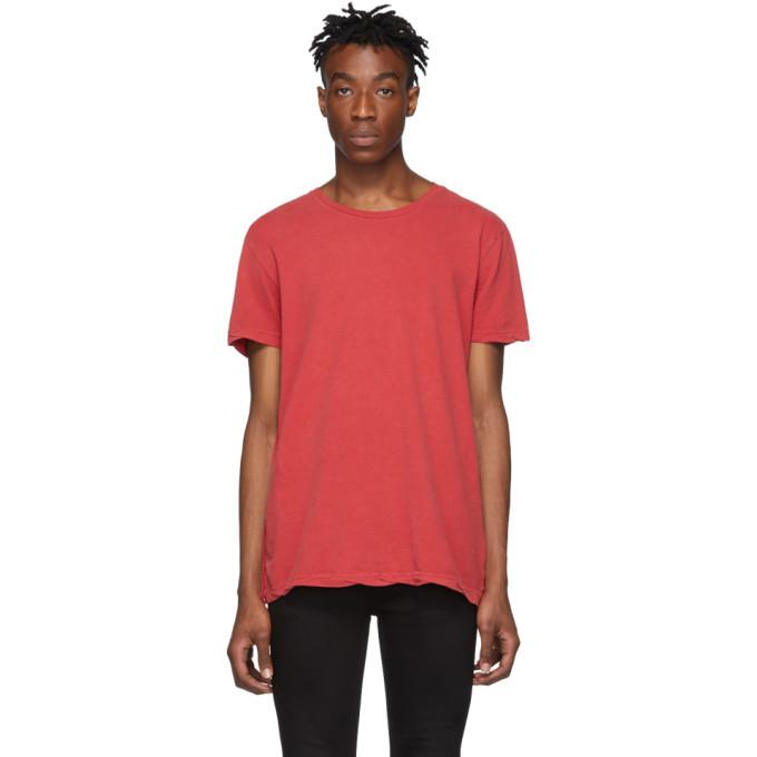 Photo: Ksubi Red Seeing Lines T-Shirt